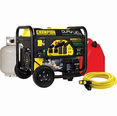 Guide For Buying The Dual Fuel Generator gas tank