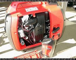 Honda EU2000i inside