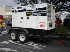 large generator white