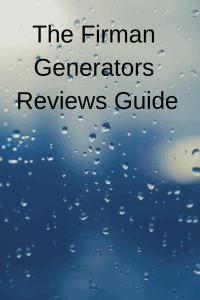 The Firman Generators Reviews Guide - Generators Zone