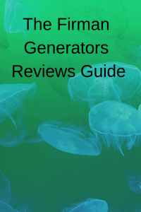 The Firman Generators Reviews Guide - Generators Zone