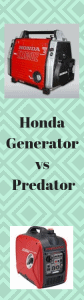 Honda Generator Vs Predator (Pros And Cons) - Generators Zone