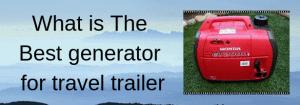 travel trailer