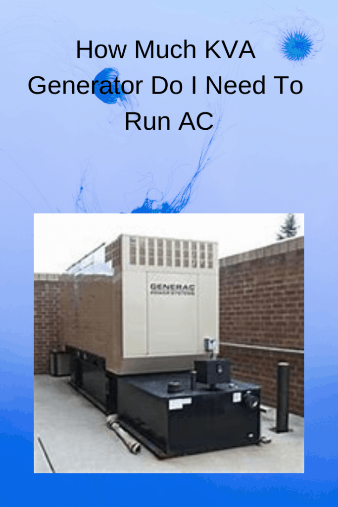 generator to run AC