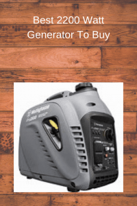 PowerMax Best 2200 Watt Generator To Buy