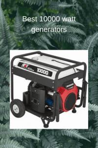 10000 watt generators