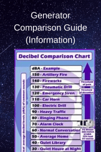 Generator Comparison Guide (Information)
