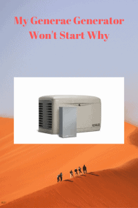 My Generac Generator Won't Star