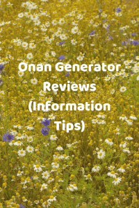 Onan Generator Reviews (Information Tips)