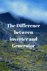 difference between Inverter and Generator