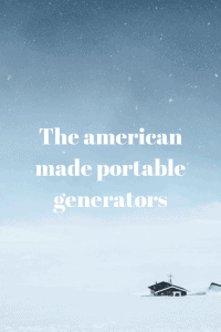 A portable generator can actually spare your life. Now and again, the outrageous virus can be a genuine thing and it has been known to be lethal, as can over the top warmth