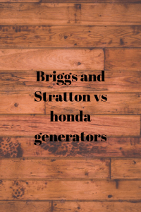 Where are Briggs and Stratton's generators made
