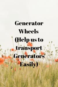 Best Generator Wheels Kit