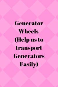 Best Generator Wheels Kit (Information)