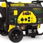 Dual Fuel RV Ready Portable Generator with Electric Start