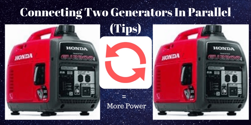 Why generators are connected in parallel?