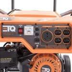 Etq TG32P31DF Tough Quality 3600-Watt Gas Powered Inverter Generator, Extremely Quiet- CARB Comp.