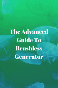 What is a Brushless Generator Head?