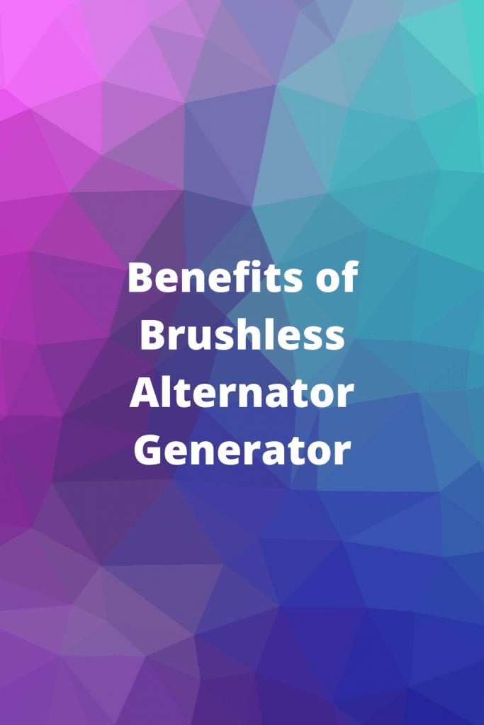 Brushless Alternator Generator