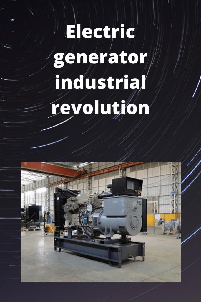 Electric generator industrial
