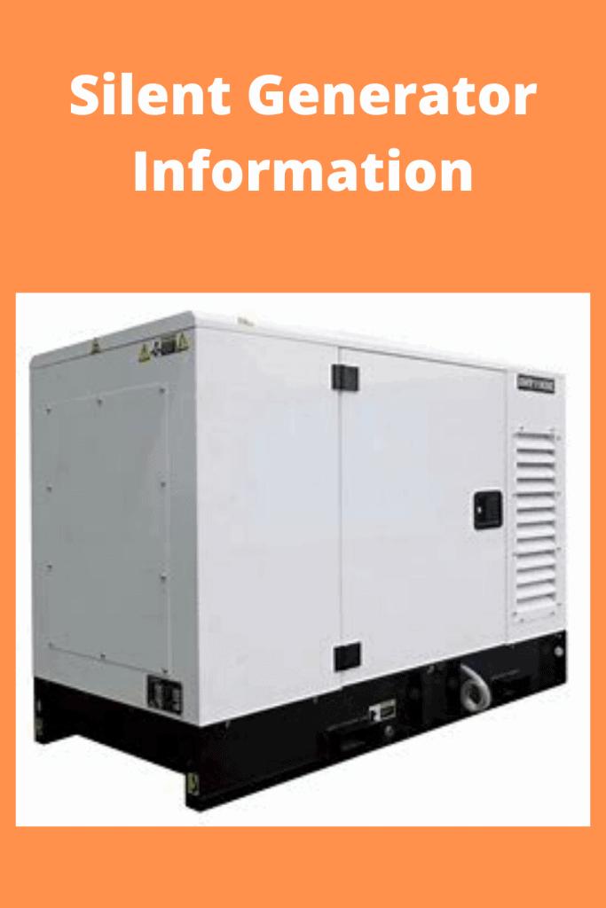 silent generation information large generator