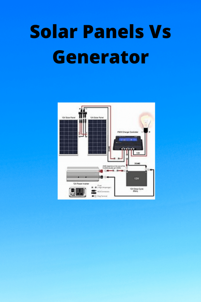 Solar Panels Vs Generator information