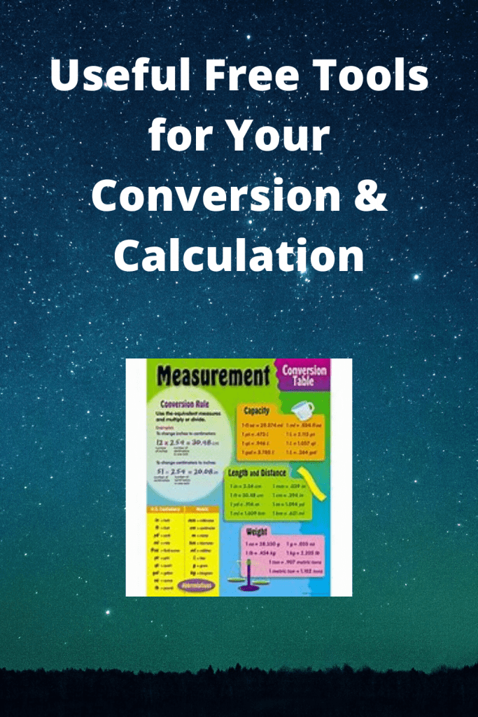 Free Tools for Your Conversion & Calculation