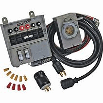 Transfer Switch with connect cable