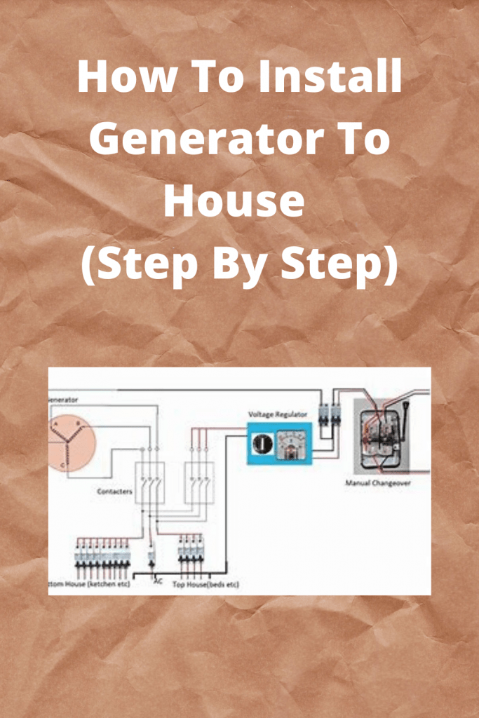 How To Install Generator switch