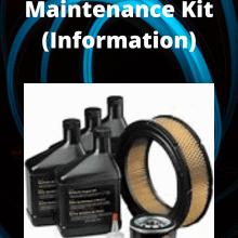 Generator Maintenance Kit Tips