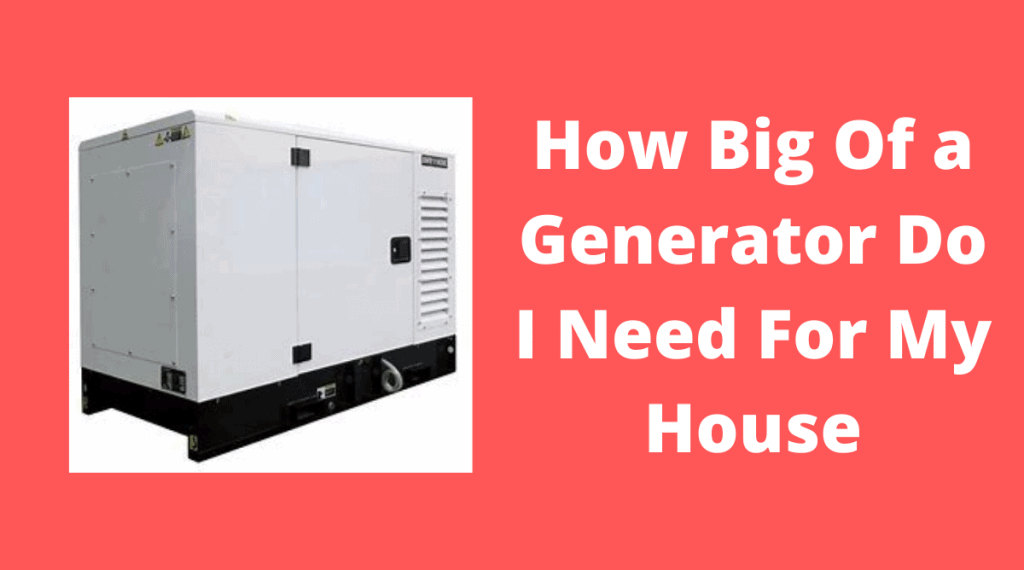 large generator for house