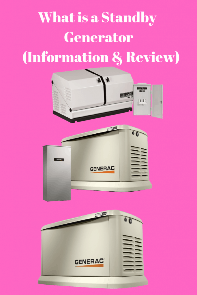 What is a Standby Generator (Information & Review)